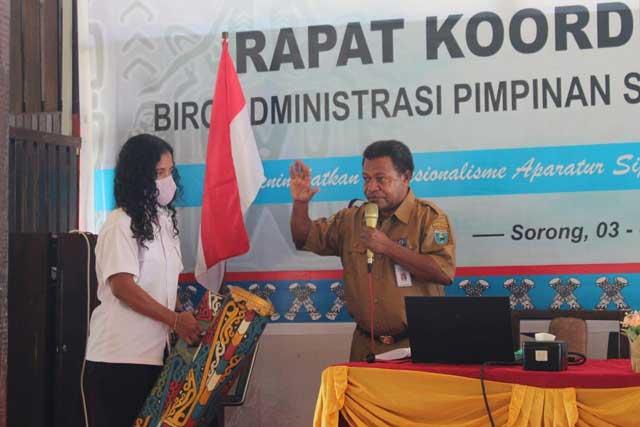 Gubernur Ingatkan Aparatur Administrasi Pimpinan Terus Tingkatkan Kualitas