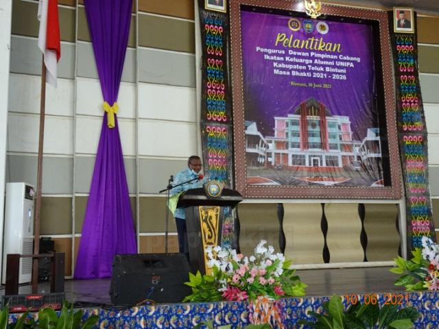 Petrus Kasihiw Tegaskan Minta Unipa Buka Fakultas Pertambangan di Bintuni