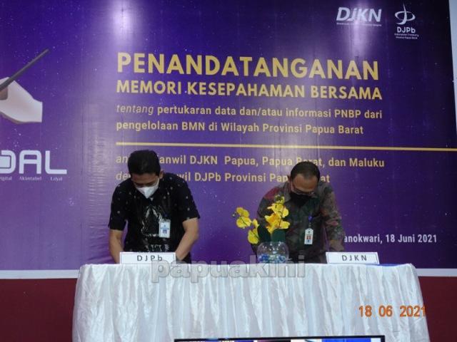 DJKN Papabaruku dan DJPB Papua Barat Optimalisasi PNBP BMN