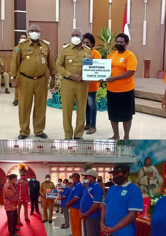 Bantuan Tahap I Terkait Covid 19 Papua Barat Tersalur di Maybrat dan Sorong Selatan