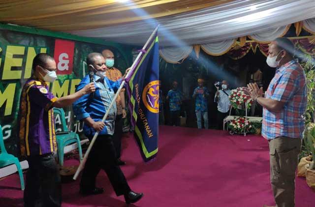 Ketua IKA Unipa Lantik Jimmy Susanto Ketua Irafu