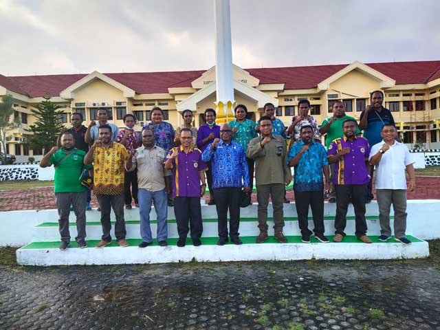 Sekda Sorong Selatan Siap Pimpin Ikatan Alumni Unipa