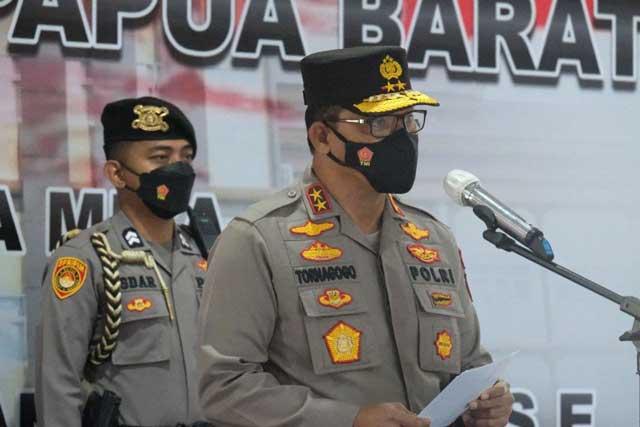 Sambut Hari Bhayangkara Polda Papua Barat Vaksinasi Covid-19 Gratis