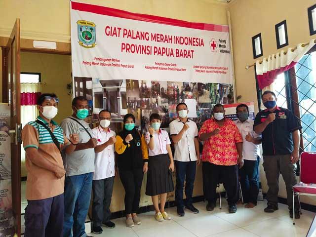 Pengurus PMI Papua Barat 2020-2025 Harap Dilantik JK
