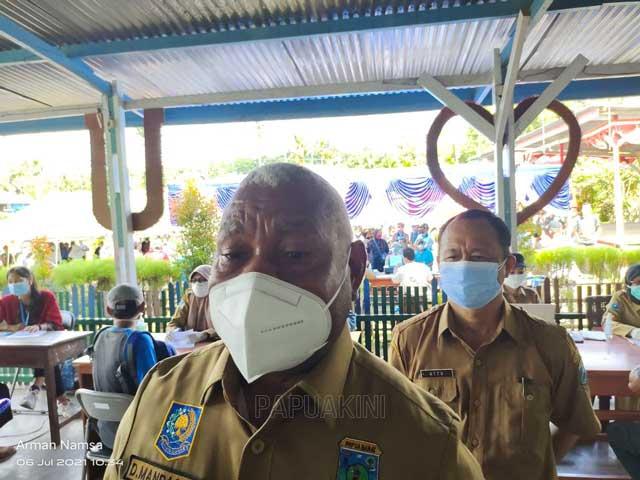 Pemprov Papua Barat Gencarkan Vaksinasi Massal di Masa PPKM Mikro