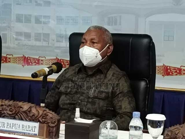 Gubernur Papua Barat Terima Kasih UU Otsus Tanah Papua Disahkan