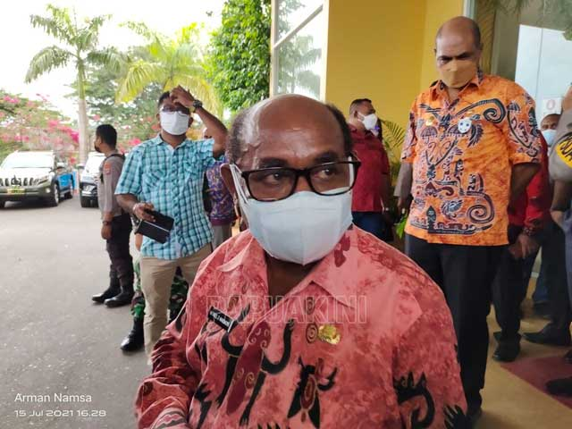 Sekda Papua Barat Ingatkan OPD Segera Masukkan Data di Aplikasi