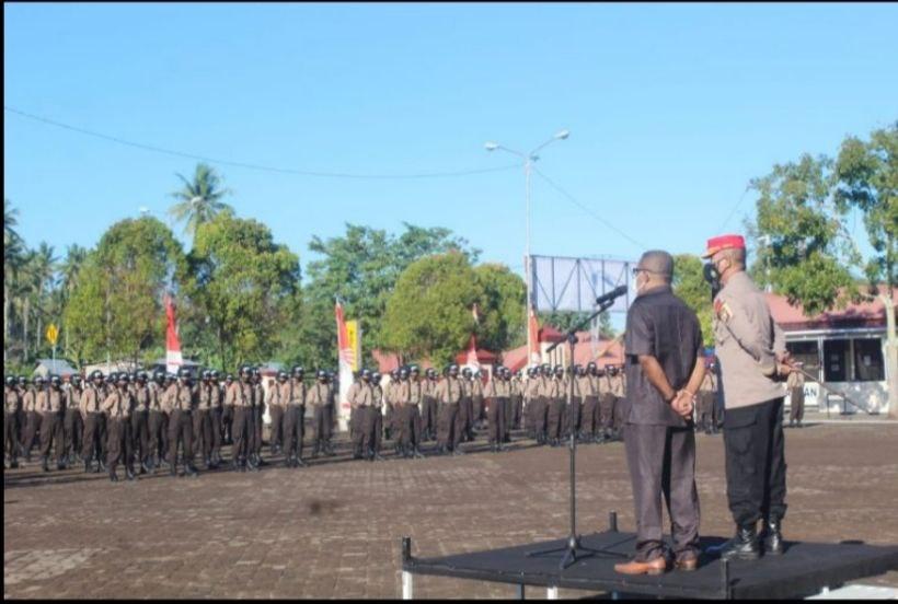 Wakil Ketua II MRPB Kunjungi 35 Bintara Otsus di SPN Maluku Utara