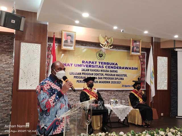Wagub Papua Barat: Gubernur dan First Lady Contoh Teladan