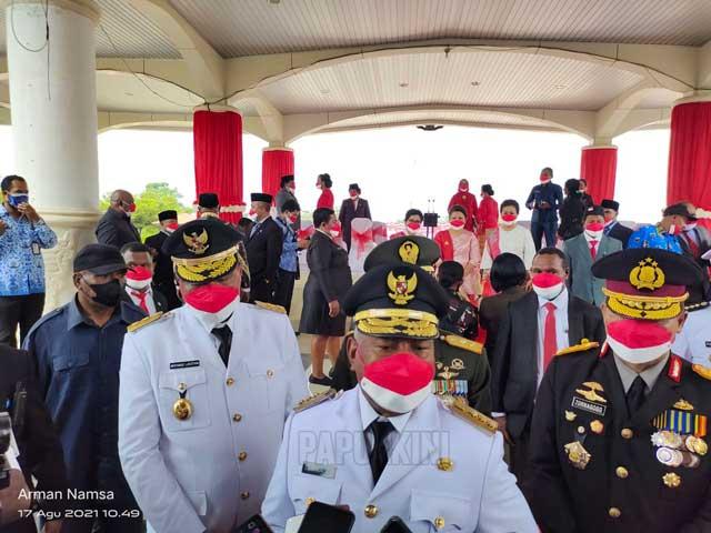 Gubernur Papua Barat Minta Semua Jalankan Indonesia Tangguh Indonesia Tumbuh