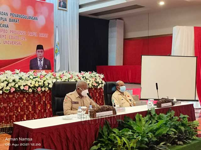 Gubernur Papua Barat Ingatkan Pentingnya Peran Pusdalops BPBD