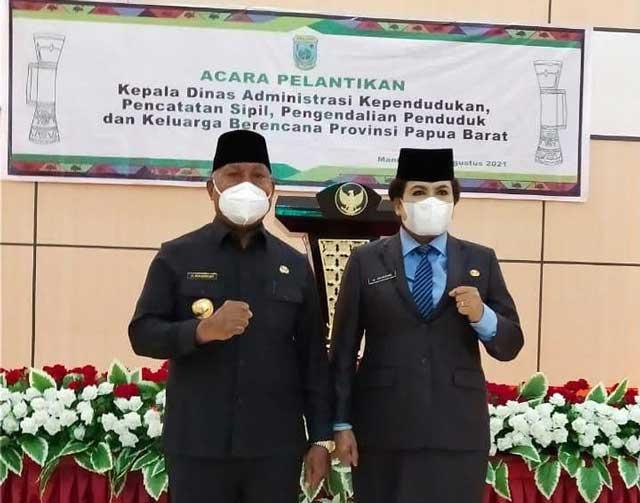 Ria Maria Come Jadi Kadis Capil Papua Barat