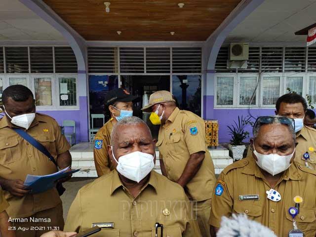 Gubernur Papua Barat Kutip Permenkes Soal Larangan Vaksinasi Covid-19 Partai Nasdem Oleh Pemkot Sorong