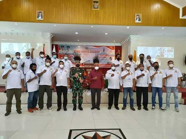 Gubernur Papua Barat Ingatkan Karang Taruna Jalin Kemitraan