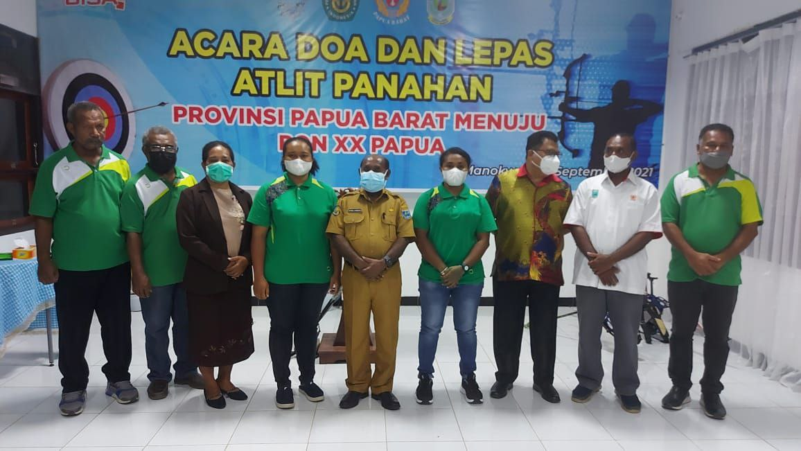 Tim Panahan Papua Barat Berangkat ke PON XX Papua