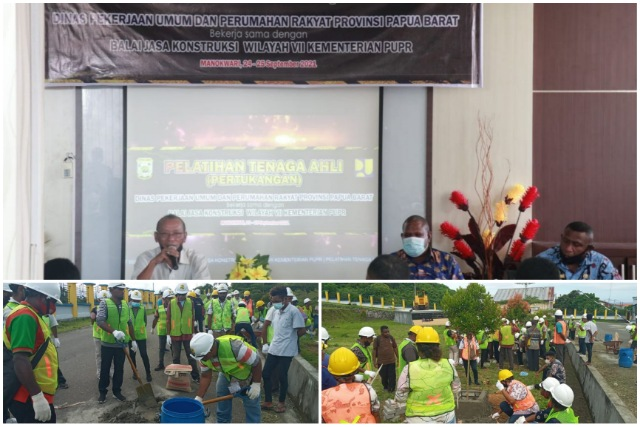 Dinas PUPR Papua Barat Latih Tenaga Ahli Konstruksi OAP