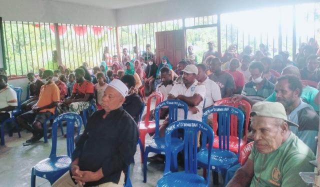 Masyarakat Kampung Syawatan Minta Pemda Bantu Instalasi Pipa Air Bersih