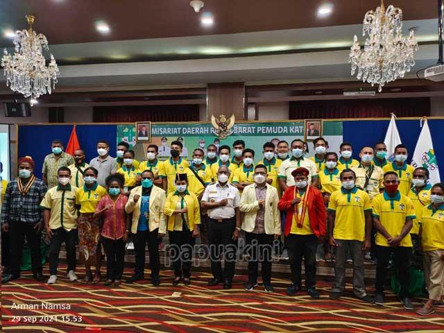 Tutup Konferensi Pemuda Katolik, Gubernur Papua Barat Ingatkan Kualitas Iman