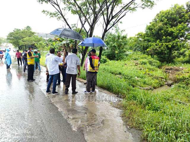 Drainase Kota Sorong Bakal Diubah
