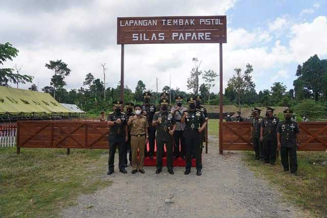 61 OAP Papua Barat Dilantik Jadi Prajurit TNI