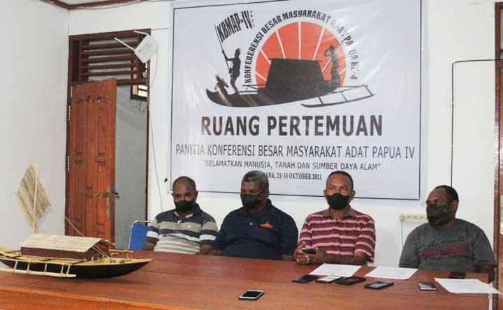 42 Delegasi Tujuh Wilayah Adat di Tanah Papua Bakal Hadiri KBMAP di Kaimana