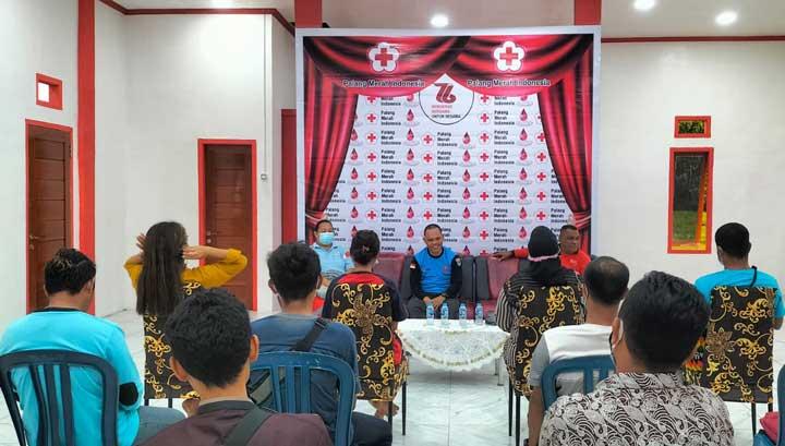 PMI Papua Barat Gembleng Relawan Kemanusiaan Profesional