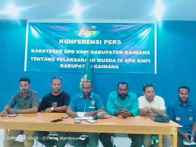 Musda KNPI Kaimana 12-13 November