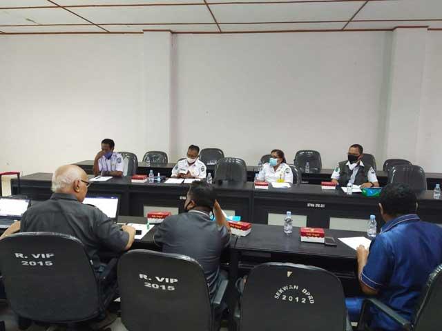 DPRD Manokwari Bahas Tiga Ranperda Inisiatif